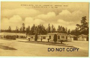 Wynne's Motel, Spokane Wash