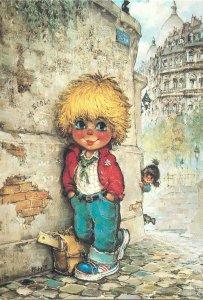 GAMINS par Michel Thomas children comic Paris hair boy pup school