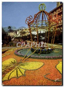 Postcard Modern Colors and Light of France The French Riviera miracle of natu...