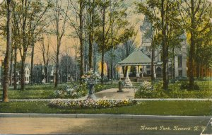 Newark NY, New York - Newark Park - pm 1912 - DB