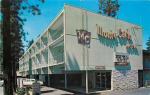 Lake Tahoe California~Monte Carlo Motel~Artist Conception 1960s PC