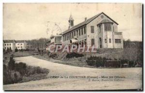 Old Postcard Camp of Courtine Mess