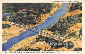 New Bourne Bridge Cape Cod MA Unused