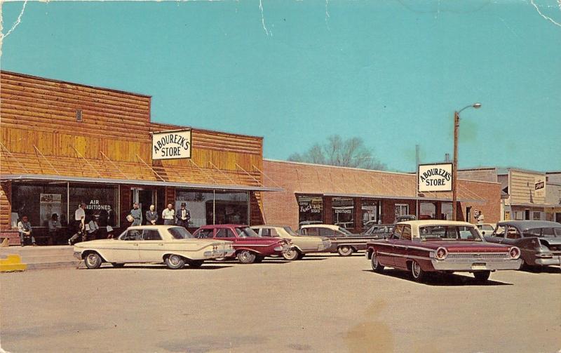 Mission South Dakota~Abourezk's Store on Main Street~Men @ Door~60s Cars~Info Bk