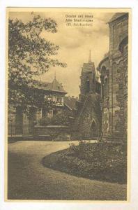 Goslar am Harz, Alte Stadtmauer, Goslar (Lower Saxony), Germany, 1900-1910s