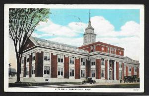 City Hall Somerville Massachusetts used c1931