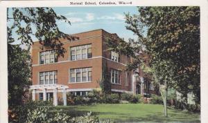 Normal School, Columbus, Wisconsin, 1910-1920s