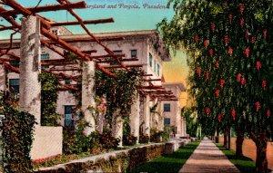 California Pasadena Hotel Maryland and Pergola