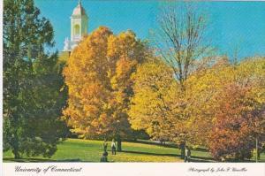 Connecticut Storrs Campus View University Of Connecticut
