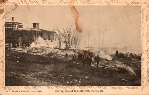 Maine Unity During Fire Of 5 January 1904