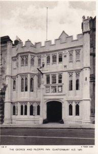 RP: The George & Pilgrims Inn , GLASTONBURY , Somerset , England , 30-40s TUCK