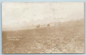 Postcard MD Carlos Maryland Allegany County Morgan's Farm RPPC Real Photo S5