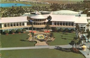 Miami South Florida~Doral Country Club~1950-70s Chrome Postcard