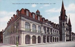 Louisianas New Orleans The Cabildo Old Spanish Court Building