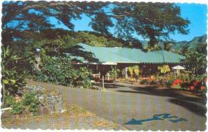 Waioli Tea Room Operated by the Salvation Army Girls Home, Manoa Valley Hawaii