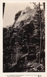 South Dakota Mount Rushmore National Memorial Real Photo