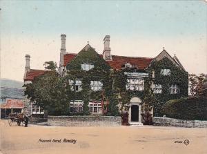 Rowsley in Derbyshire , England , 00-10s ; Peacock Hotel