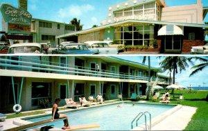 Florida Pompano Beach Sea Isle Apartment Motel Ocean Front