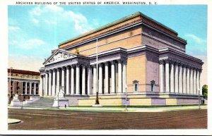 Washington D C United States Archives Building