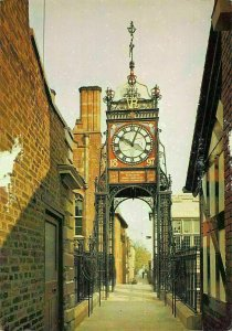Chester The Clock on Eastgate Postcard