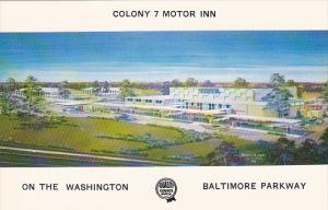 Maryland Baltimore Colony 7 Motor Inn