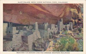Marvelous Cliff Palace Mesa Verde National Park Arizona