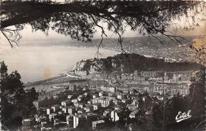 France Nice General view from Mount Boron Panorama