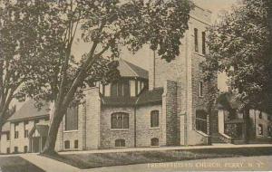 New York Perry Presbyterian Church Curteich