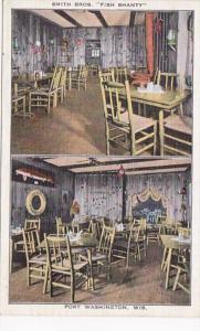 Wisconsin Port Washington Smith Brothers Fish Shanty Restaurant 1936