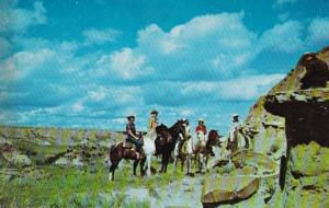 South Dakota Badlands Horseback Riders South Theodore Roosevelt National Memo...