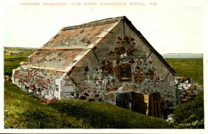 Canada - Nova Scotia, Annapolis Royal. Powder Magazine, Old Fort