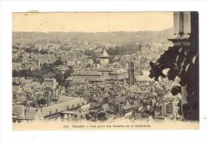 Vue Prise Des Galeries De La Cathedrale, Rouen (Seine-Maritime), France, 1900...