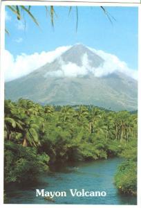 Mayon Volcano, Philippines, unused Postcard