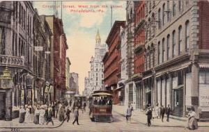PHILADELPHIA, Pennsylvania , 00-10s; Chestnut Street, West from 8th Street