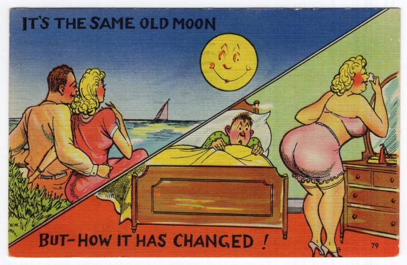 It's The Same Old Moon, But - How It Has Changed!