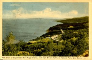 Canada - Nova Scotia, Cape Breton. East Shore from Cape Smokey
