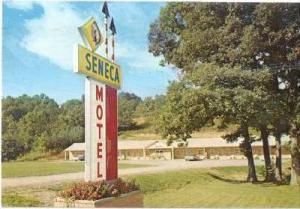 Seneca Motel, Elkins, West Virginia, PU-1971