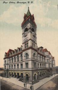 BROOKLYN, New York City, New York; Post Office, PU-1911
