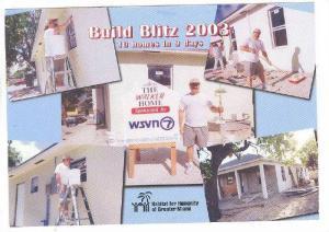Habitat for Humanity, Miami , Florida , 2003