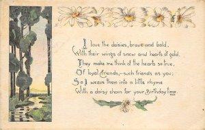 Birthday poem Daisy's R.P.O., Rail Post Offices PU 1920