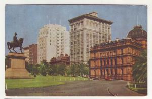 P96 JLs old postcard macquarie street sydney nsw