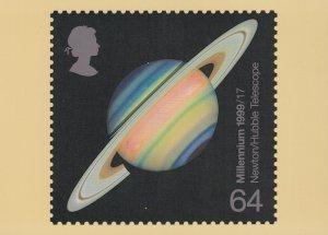 Newton Hubble Astronomy Telescope Limited Edition Postcard