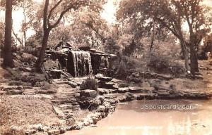 Falls in Chautauqua Park Beatrice NE Unused