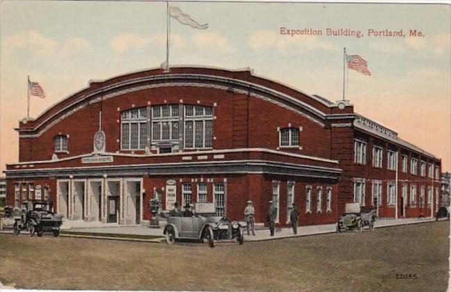 Maine Portland Exposition Building