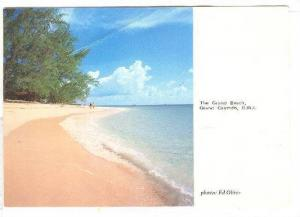 The Grand Beach, Grand Cayman, British West Indies, Antilles, PU-1988
