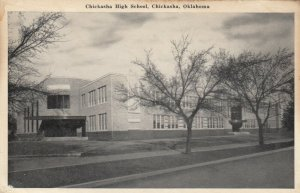 CHICKASHA, Oklahoma, 1930-50s; Chickasha High School