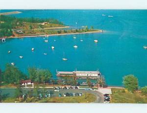 Pre-1980 AERIAL VIEW Kentucky Lake Park - New Concord & Hazel & Hamlin KY A3916