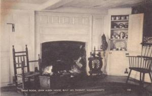 Interior, Great Room, John Alden House, Duxbury, Massachusetts,00-10s