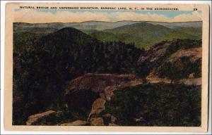 Natural Bridge & Ampersand Mt, Saranac Lake NY