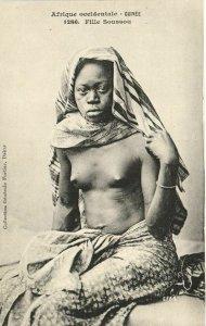 CPA AK Senegal Ethnic Nude Fortier - 1286. Fille Soussou (71187)